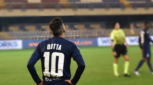 Rubén Botta marcó en el ascenso italiano