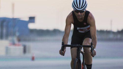 Tomás Perucca, embajador de lujo del triatlón sanjuanino en Medio Oriente