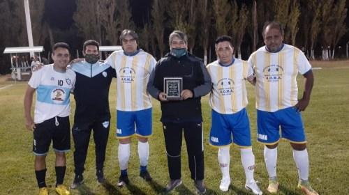 Con un homenaje a ex combatiente de Malvinas, se jugó otra fecha del Fútbol Senior