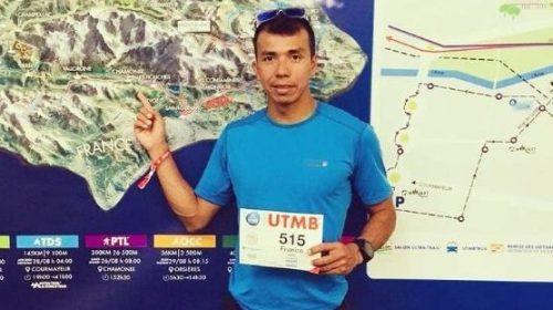 Franco Oro corre en las maravillas de la Patagonia