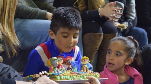 Benja Rodríguez, el patinador al que todo el Aldo Cantoni le cantó el feliz cumpleaños