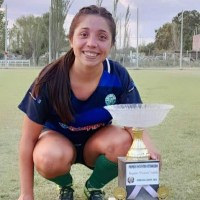 """Roxana Sánchez, delantera del Aramburu: """"Amo el fútbol, lo lloro, lo río, lo disfruto"""""""