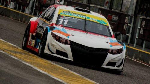 Fabricio Persia quedó al borde del podio en la primera final del Top Race