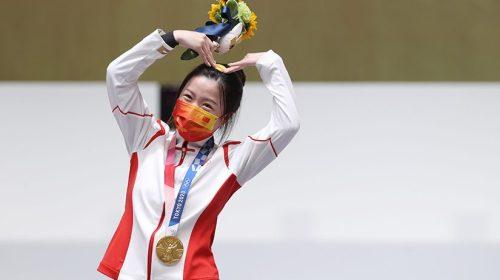 La china Yang alcanzó en tiro deportivo la primera medalla de oro en Tokio 2020