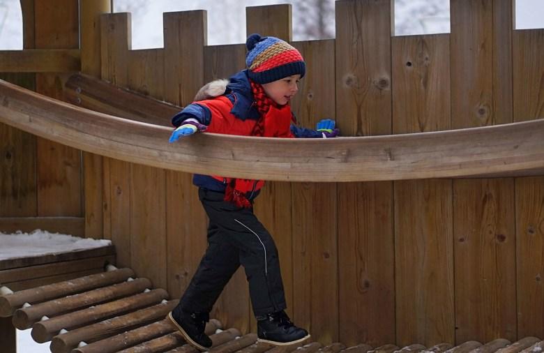 Dječja igrališta zimi ne bi trebala biti prazna