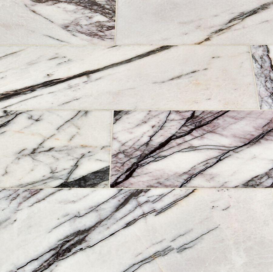 viola polished marble tile