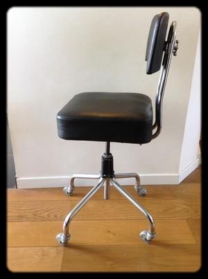 Chaise De Bureau Industriel