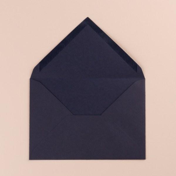 enveloppe bleu fermeture triangulaire