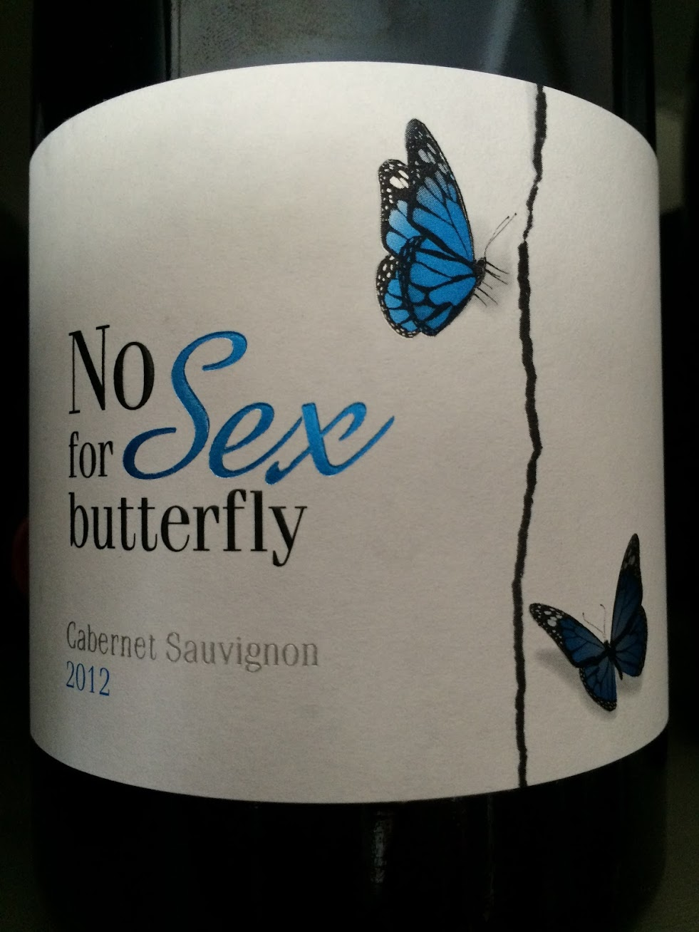 Chateau de Valcombe - No Sex for Butterfly - Rouge - 2012