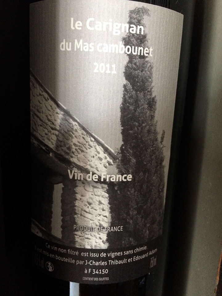 Mas Cambounet Carignan Rouge