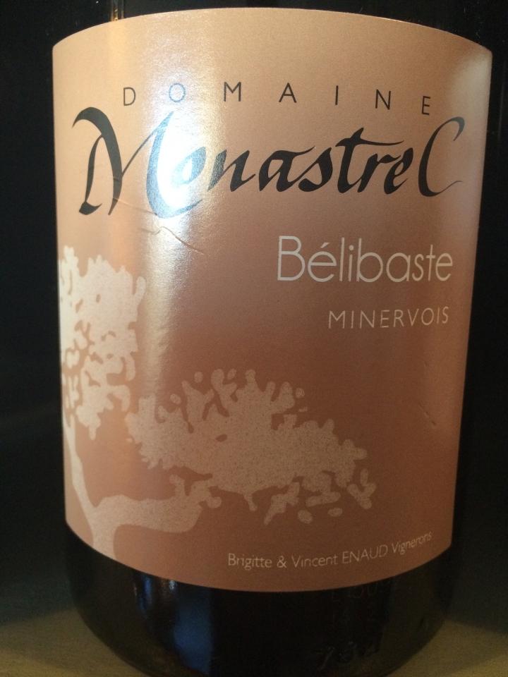 Domaine Monastrel - Bélibaste - 2011 - Rouge