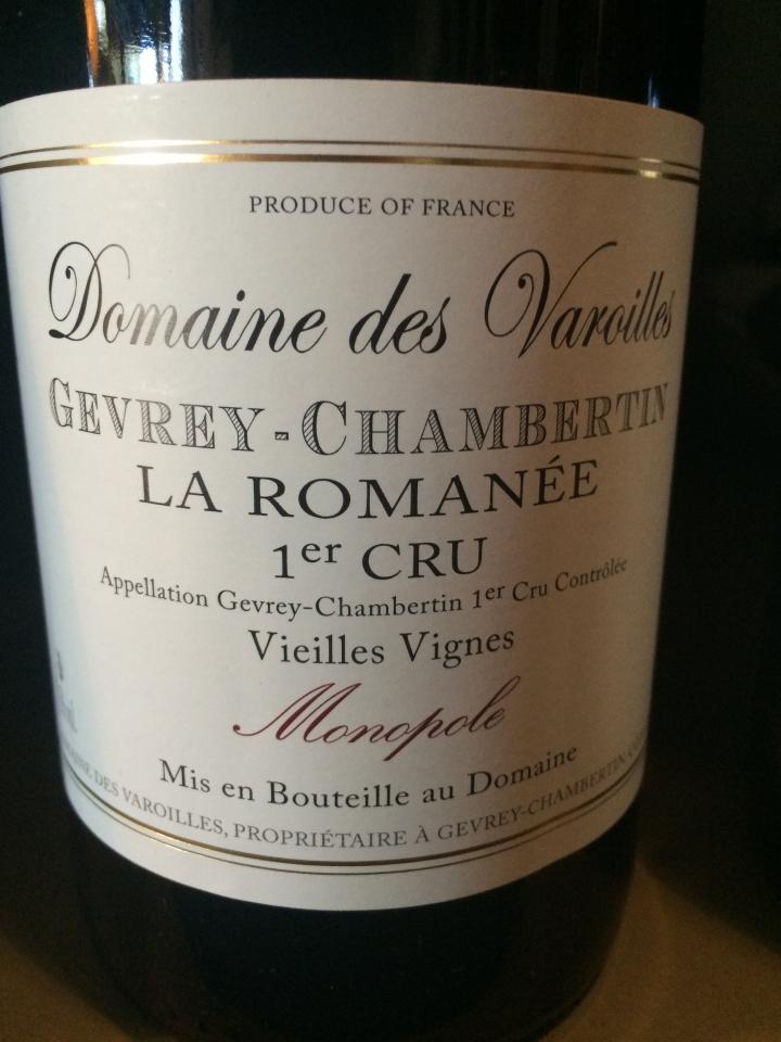 Domaine Les Varoilles - Gevrey-Chambertin 1er Cru Monopole - Rouge