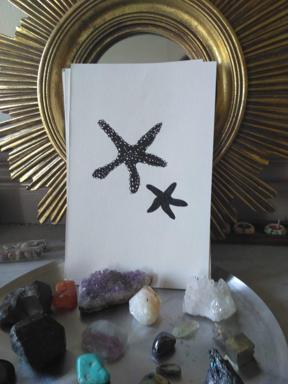 inktober-étoiles-de-mer