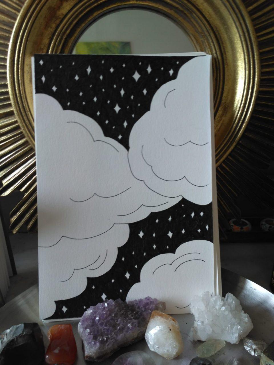 inktober-nuages-étoiles