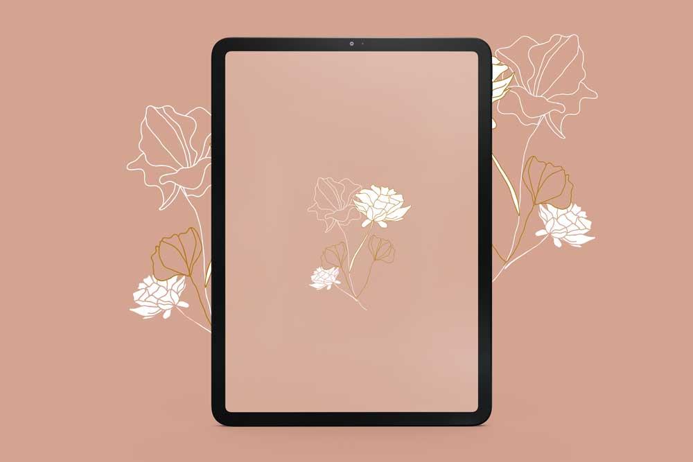 fond-decran-mai-fleurs-tablette