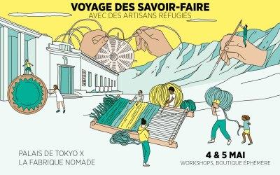 VOYAGE DES SAVOIR-FAIRE AVEC DES ARTISANS RÉFUGIÉS