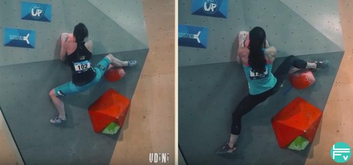 udini compared climbers