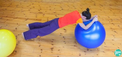 core training-swiss ball