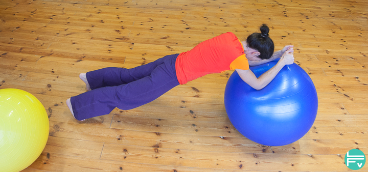 core training-swiss ball