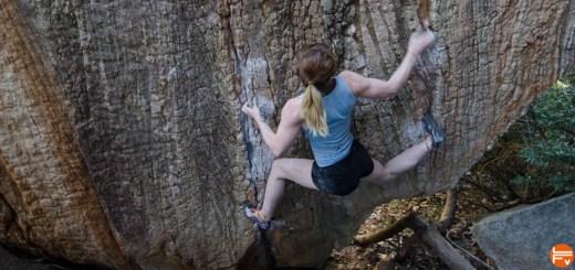 lolottes douleur genou escalade grimper bloc