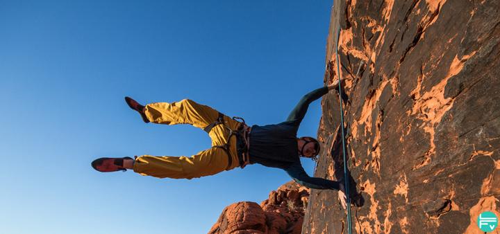 comment faire un human flag grimpeur escalade entrainement renfo