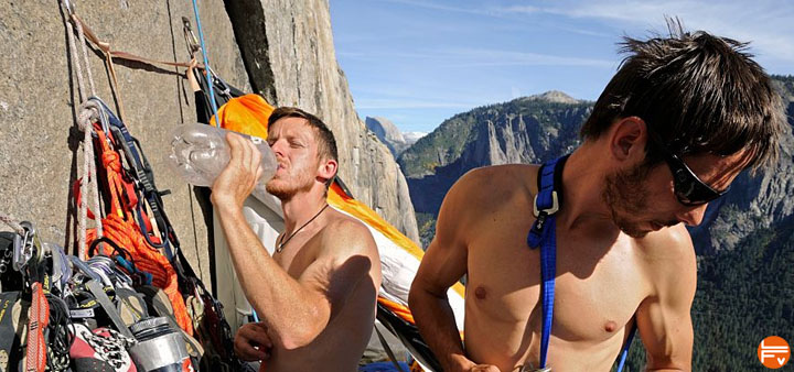 staying hydrated during climbing