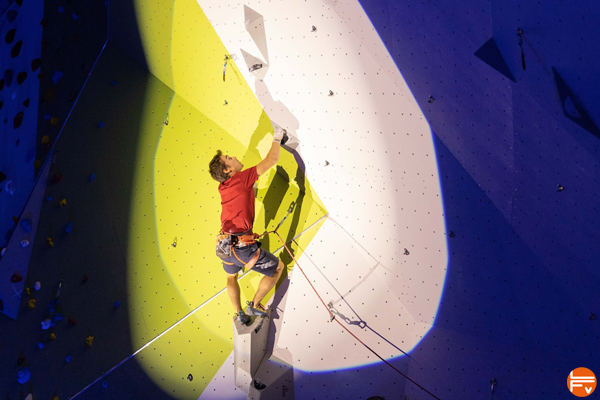 masters inauguration salle escalade climb up angers hugo parmentier