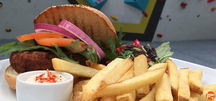 burger et frites bouf grasse lipides escalade bloc