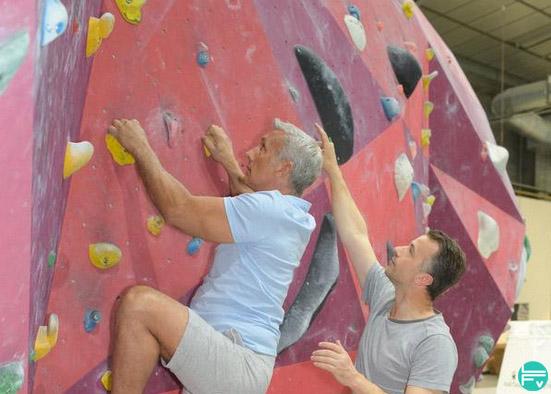 vieux grimpeurs age et escalade risque de blessures