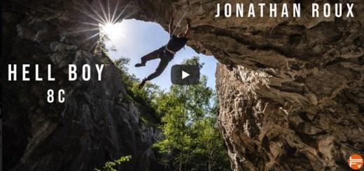 hell boy 8c jonathan roux coache par la Fabrique verticale