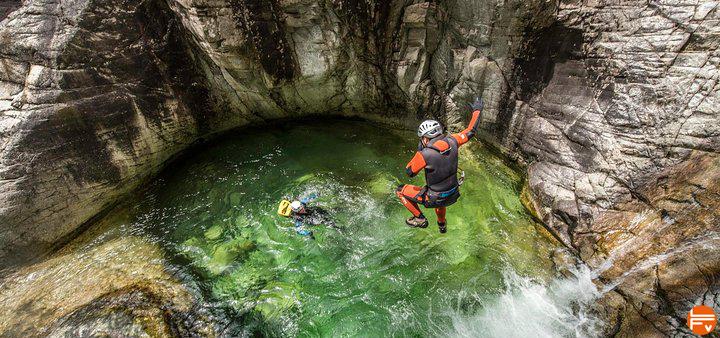 canyoning en corse pratique encadrement materiel