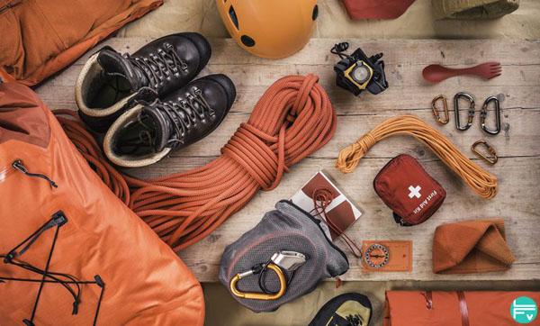 check list materiel indispensable pour grimper en exterieur pour escalade en falaise
