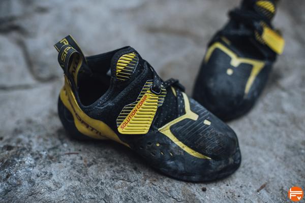 chaussons escalade bloc salle solution comp La Sportiva