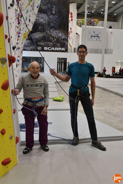 Marcel Remy & Martin Rebetez, salle d'escalade de Geneve , février 2021