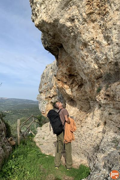 falaise escalade entrainement bi-quotidien