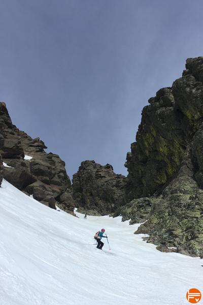ski de rando cardio entrainement escalade