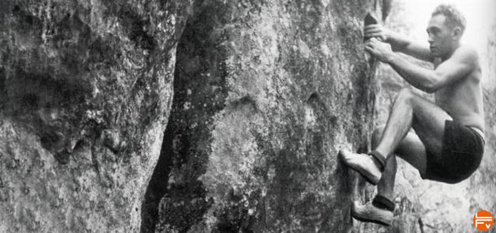 pierre allain inventeur chausson escalade