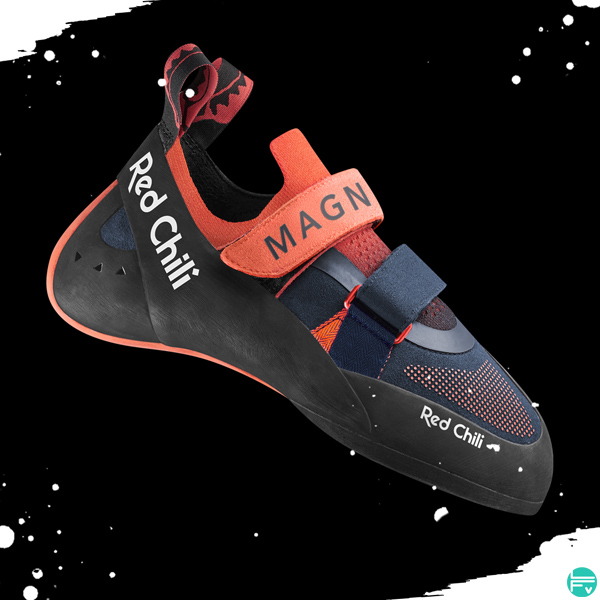 chaussons escalade magnet redchili edelrid