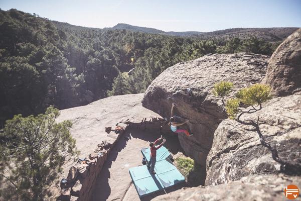 bloc outdoor escalade grimper