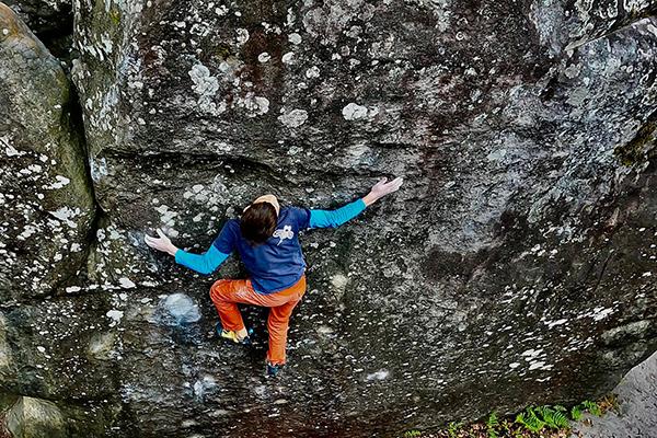 Esteban Tournus - Golden Feet Performance des enfants escalade