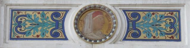 Médaillon (L. Della Robbia)