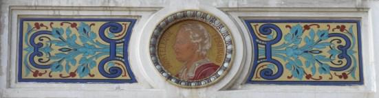 Médaillon (F. Mortelèque)