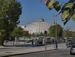 Vue urbaine (P. Dufau & R. Buckminster Fuller)