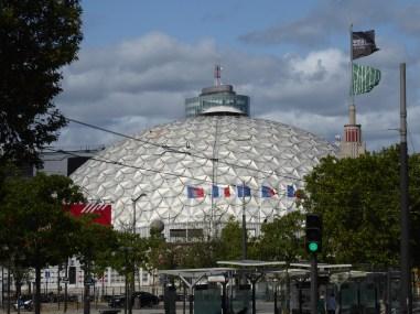 Autre vue urbaine (P. Dufau & R. Buckminster Fuller)