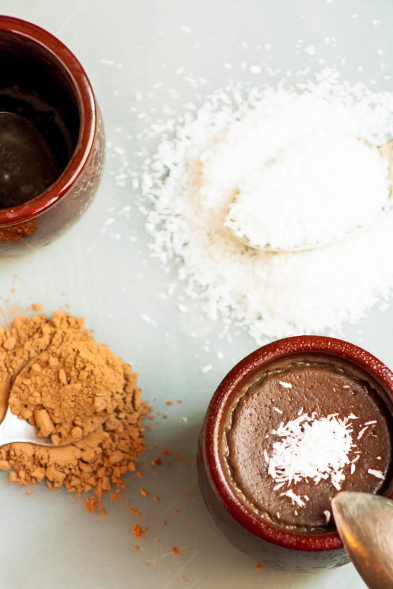Petite crème chocolat - caroube