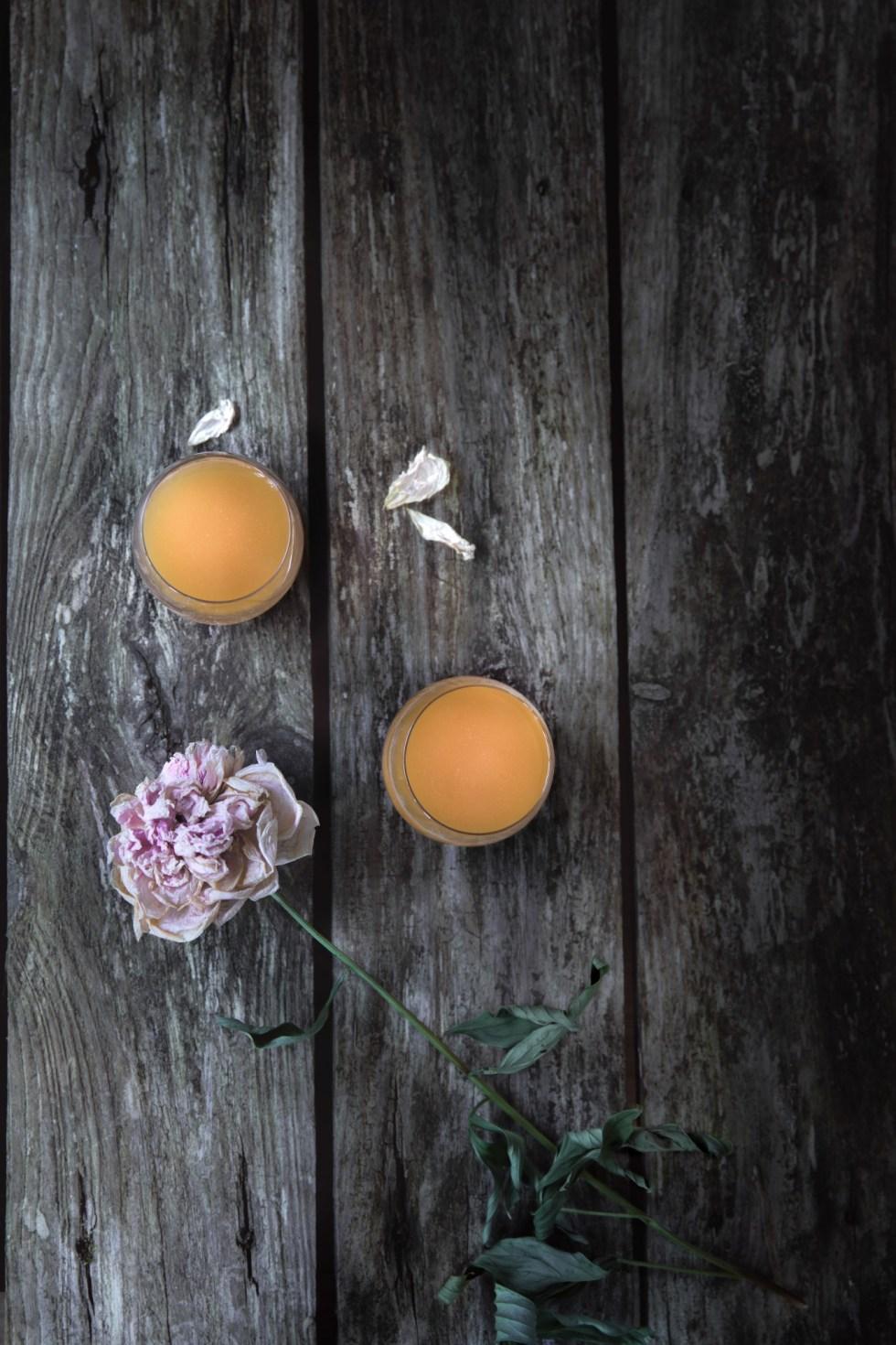 Jour-J >>> Jus melon charentais et fenouil