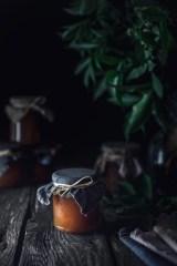 Confitures pommes et fleurs de sureau