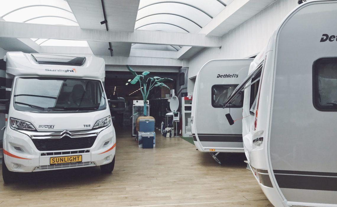 Campings-cars exposés