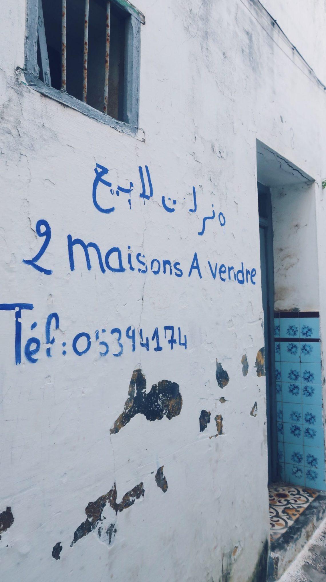 Maison à vendre à Assilah au Maroc