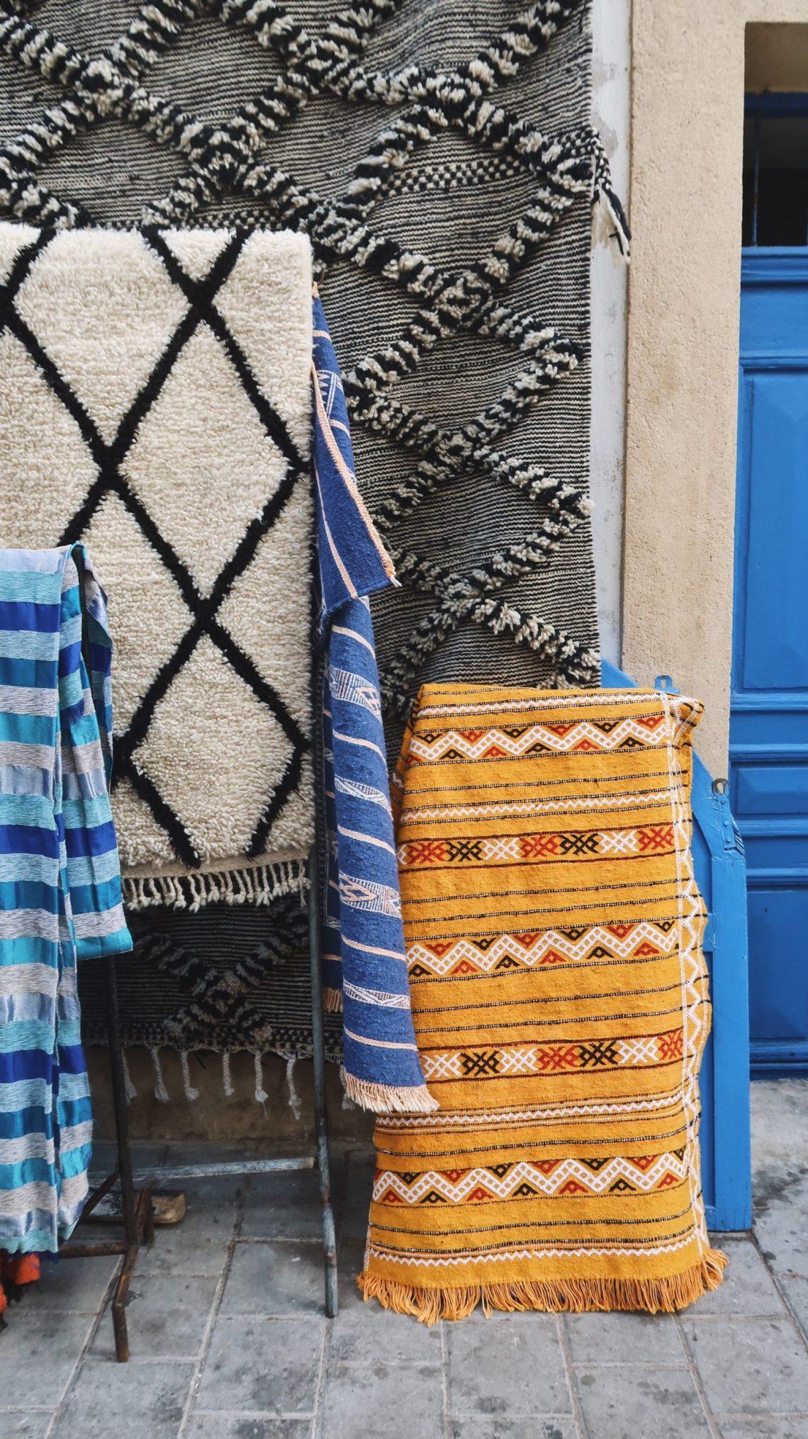 Tapis à Essaouira
